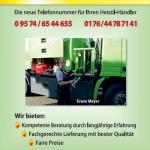 Der Aktuelle Flyer von Meyer Heizöl in Schwürbitz